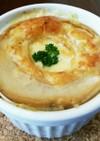 簡単!お麩deオニオングラタンスープ