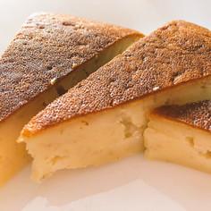 炊飯器で簡単!ヨーグルトバナナケーキ