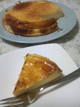 ミキサーで簡単♪ベイクドチーズケーキ