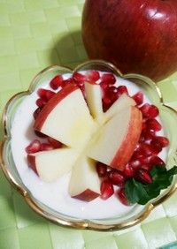 リンゴの飾り切り☆蝶々♪