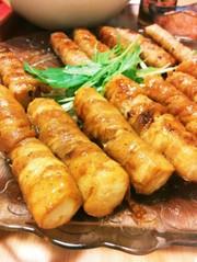 豆腐でかさ増し豚バラ肉巻きの写真