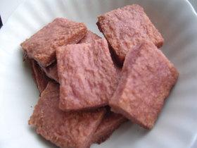 食パンで*なんちゃってチョトス*苺チョコ