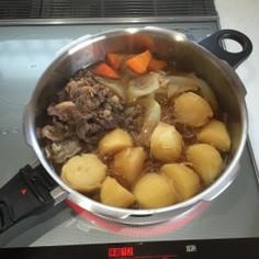 ゼロ活力鍋で簡単肉じゃが