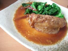 ほったらかし☆ 鶏肉の生姜煮