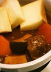 炊飯器 牛すね肉シチュー 市販ルウ
