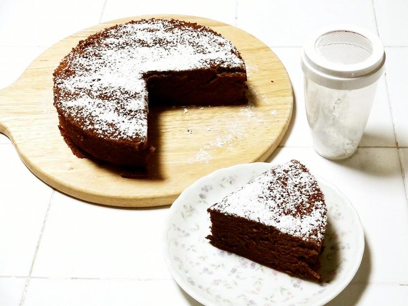 【小麦粉ふりふり】ココアケーキ