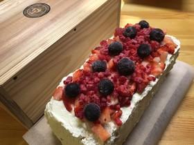 糖質制限 簡単 おからの苺のケーキ