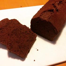 しっとり濃厚♪ 簡単ココアパウンドケーキ