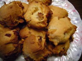 角切りんごのはちみつ☆ドロップクッキー