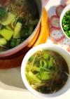 ポカポカ温まる野菜の薬膳スープ