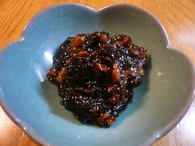 海苔の佃煮☆梅かつお風味
