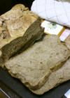 麦茶パックで大麦入りお米食パン