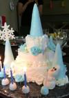 エルサの氷のお城ケーキ(覚書)