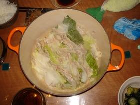 ポン酢でさっぱり☆白菜と豚バラ肉の蒸し煮