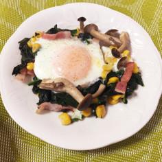 お弁当に!朝食に!栄養満点の巣ごもり卵