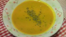 お鍋一つでかぼちゃのスープ