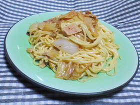簡単なキムチスパゲティー