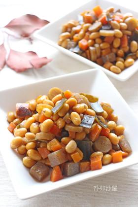 体に優しくダイエット♪常備菜✿五目豆✿