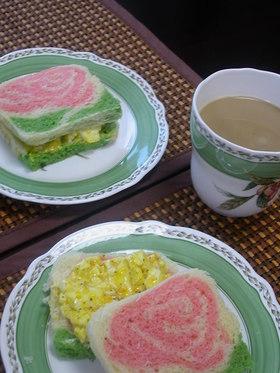 朝食にちょっとリッチなタマゴサンド