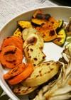 焼き肉の野菜…簡単一手間でおいしい♪…