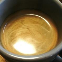 泡が美味♪インスタントコーヒー