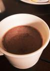 ココナッツウォーターのチョコミルク
