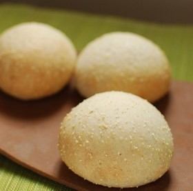 コーングリッツ♡プチプチ♡丸パン
