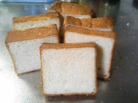 きめ細かいはちみつ食パン