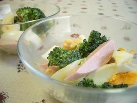 おさかなのソーセージdeサラダ