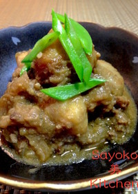 里芋のしぐれ煮