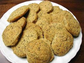 天ぷら粉でほろほろの紅茶クッキー