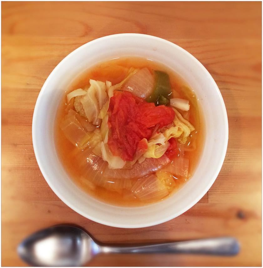 野菜スープ。