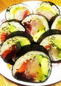 糖質制限★ありゃ旨い♪巻き寿司&恵方巻き