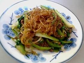 春雨とたっぷり野菜の炒め物