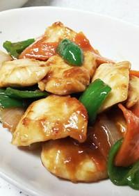 鶏むね肉と彩り野菜のオイスター炒め