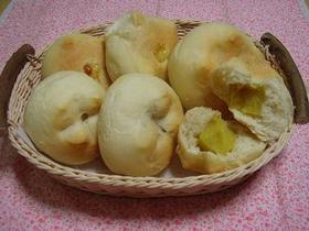 芋羊羹&チーズパン