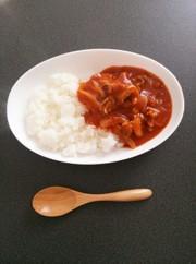 簡単!ルウ不要!トマト缶でハヤシライス♪の写真