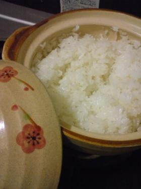 一合だけ炊くなら☆100円土鍋でご飯