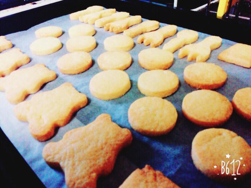 サクサク、ほろほろのシンプルクッキー⁂