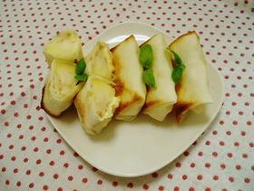 りんご&クリームチーズのヘルシー春巻き。