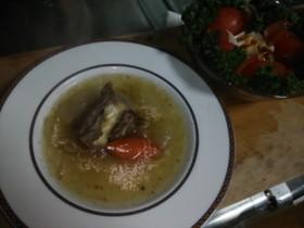 牛肉のテールブランディスープ