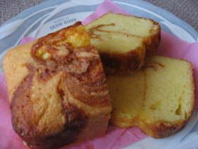 カラメルパウンドケーキ