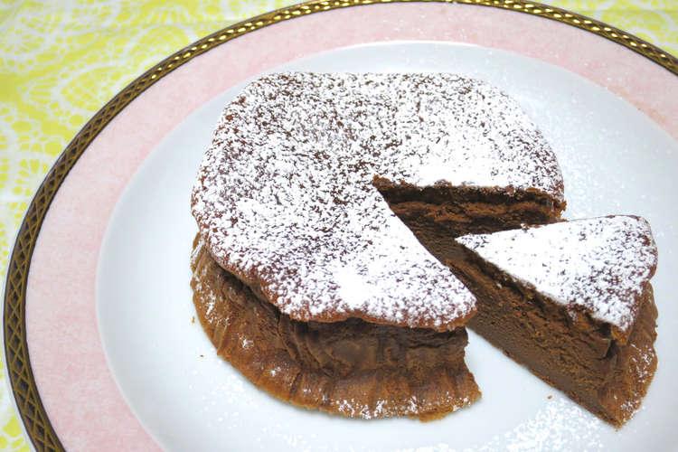 ショコラ 材料 つ ガトー 2 メレンゲが鍵!材料3つでお手軽ガトーショコラ 作り方・レシピ