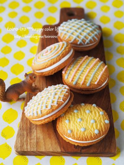 簡単&カワイイ♡マシュマロサンドクッキー