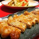 豚ロースのニンニク味噌焼き