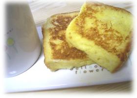 パパッと朝食♪ふわふわのフレンチトースト