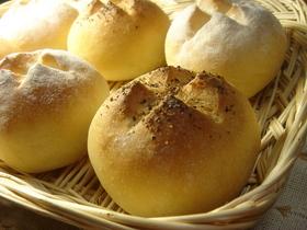うちのベーコンチーズポテトパン☆