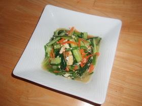 彩り野菜の即席和え