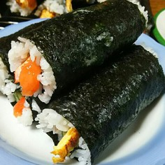 子供でも噛みきれる♪ 手巻き寿司簡単秘策