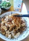 麻婆焼きそば(麻婆豆腐+ソース焼きそば)